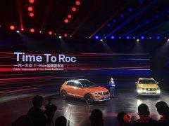一汽大众首款SUVT-Roc正式亮相中文
